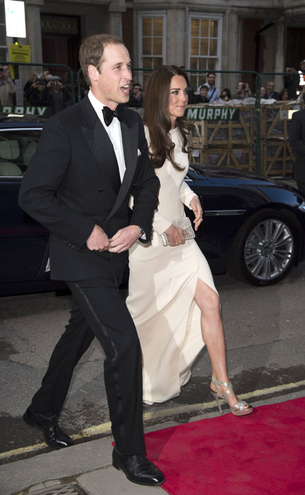 Kate in Roland Mouret