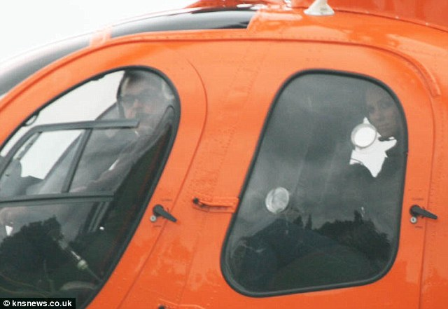 Duchess of Cambridge helicopter