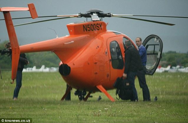 Duke of Cambridge helicopter