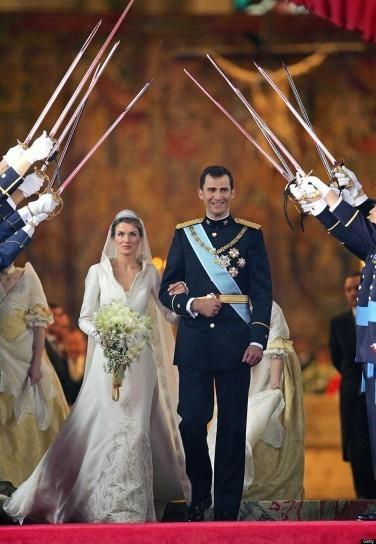 matrimonio-letizia-di-spagna e Felipe