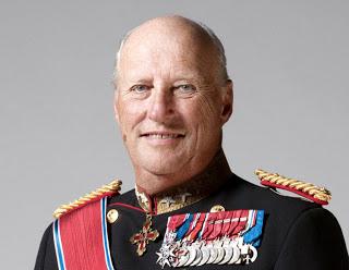 Re Harald  V di Norvegia