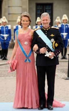Philippe e Mathilde del Belgio