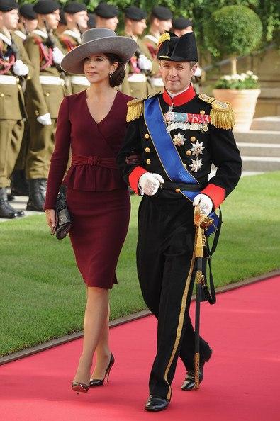 I principi Mary e Frederik di Danimarca Princess Mary and Prince Frederik of Denmark