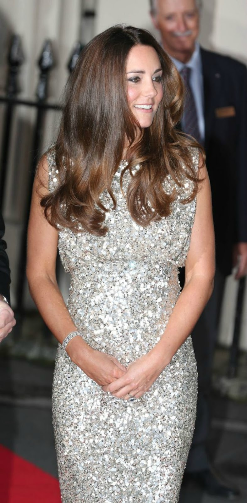 Duchess-of-Cambridge in Jenny Peckham