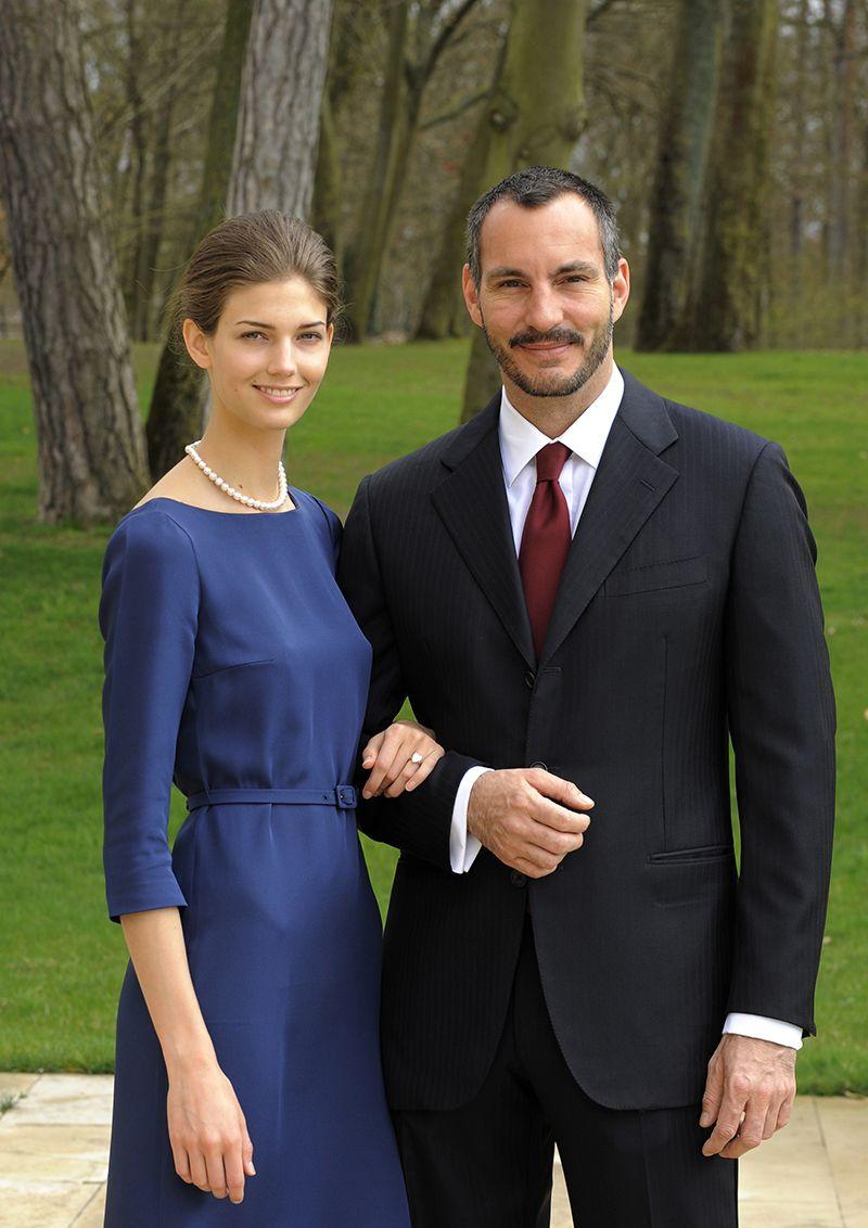 Foto ufficiale di fidanzamento
