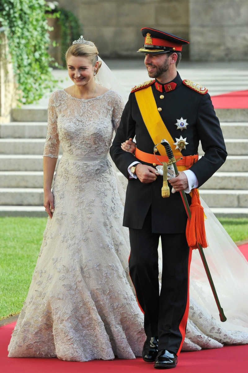 Wedding+Prince+Guillaume+Luxembourg+Stephanie
