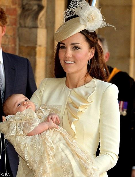 battesimo George Kate