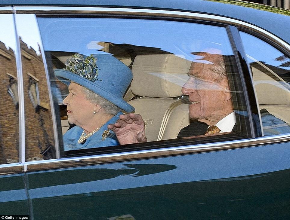 la Regina e il Duca di Edimburgo