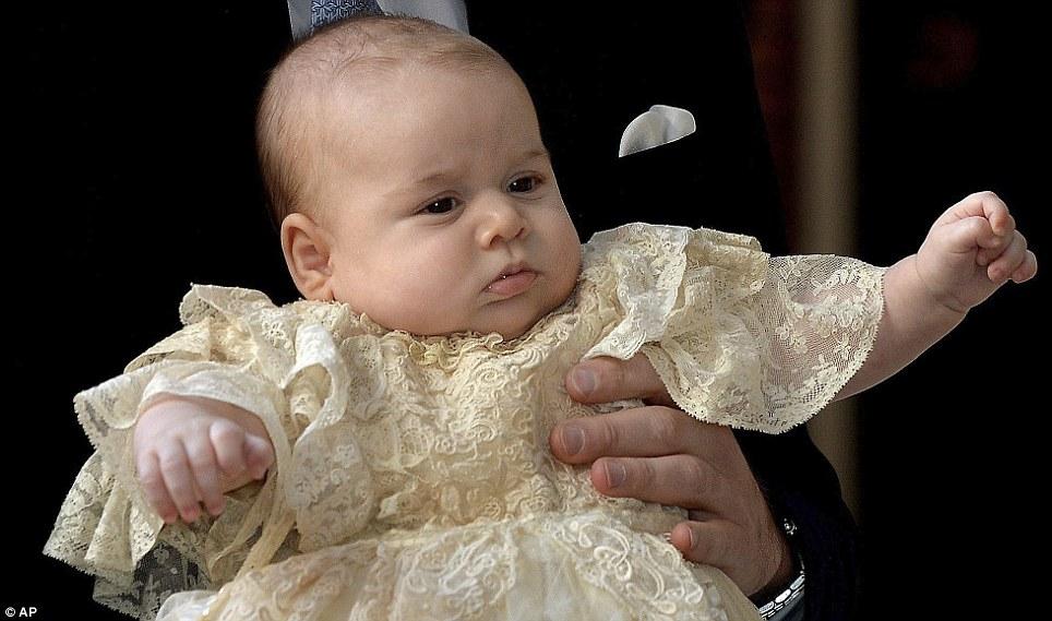 Principe George battesimo