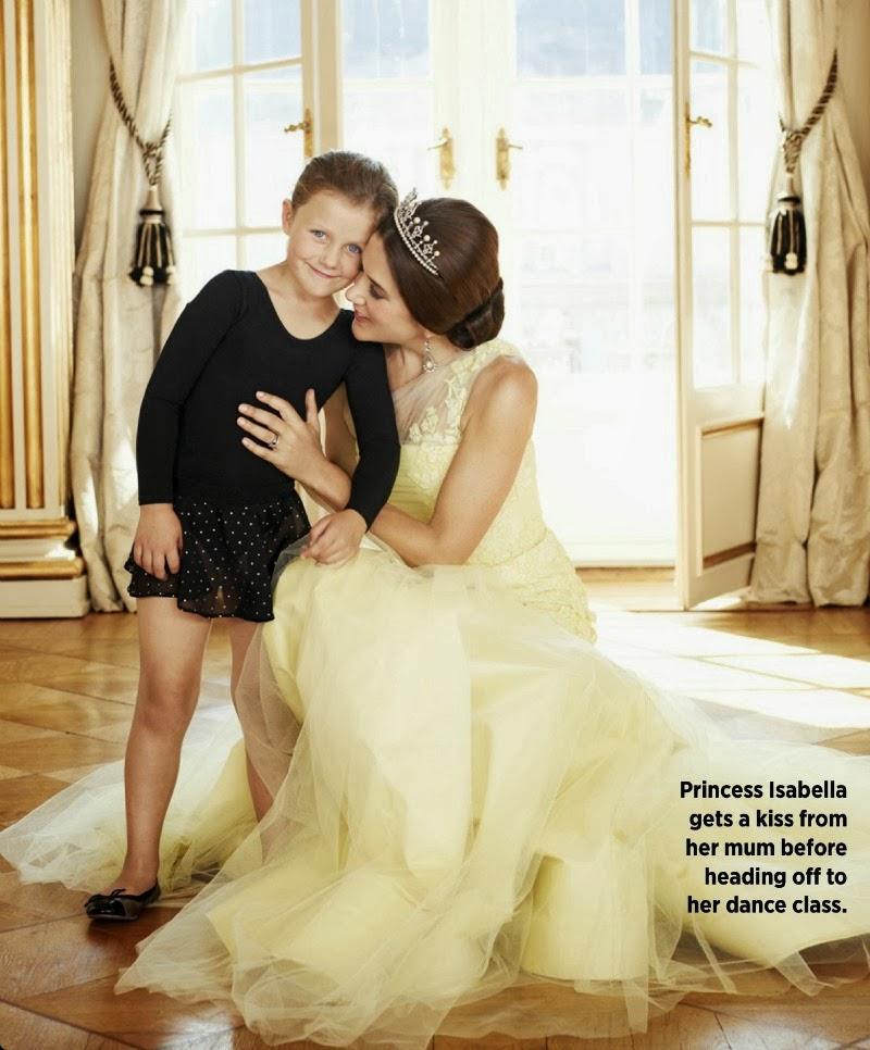 Mary in Alex Perry con la figlia Isabella