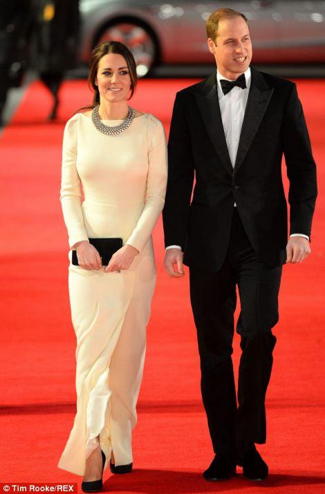 Duke and Duchess of Cambridge Mandela