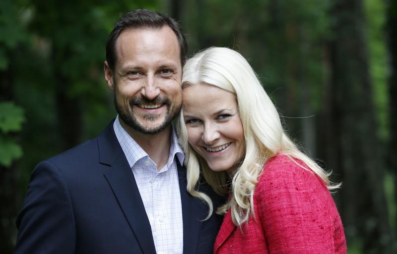 Il Principe Haakon, futuro re di Norvegia e la moglie la Principessa Mette-Marit hanno celebrato il loro 40esimo compleanno Crown Prince Haakon and Crown Princess Mette-Marit  celebrated  their 40th birthday