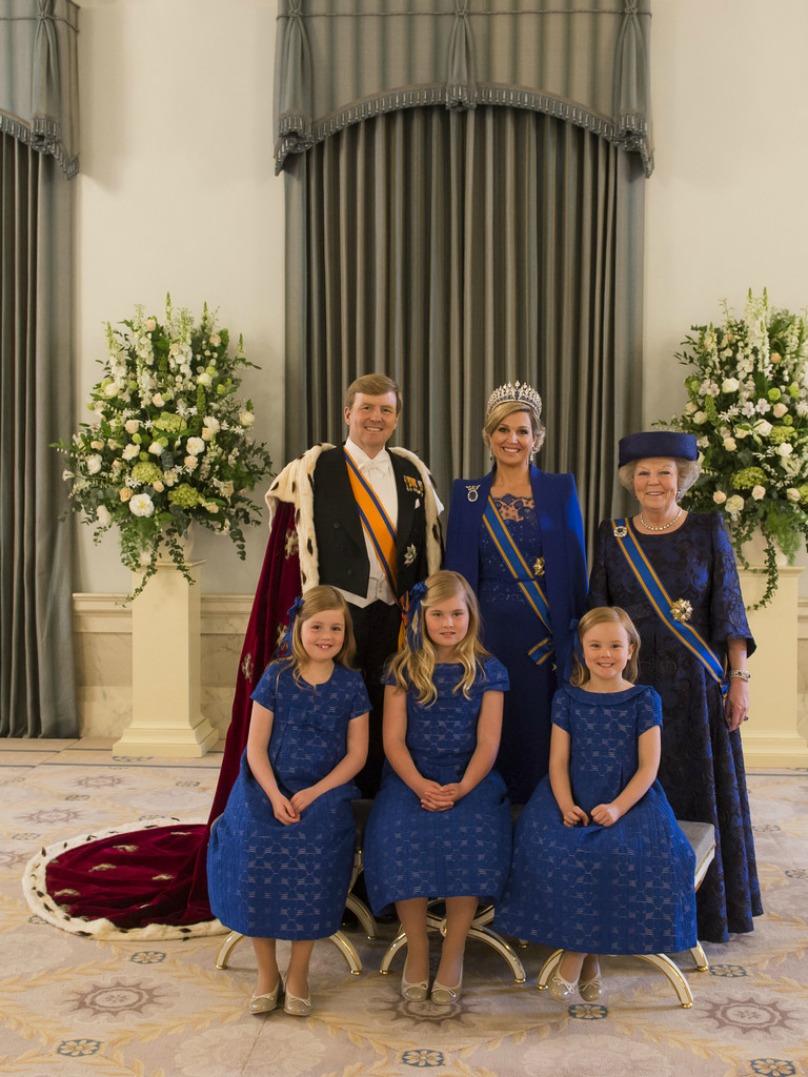 Incoronazione del Re Willem-Alexander d'Olanda Coronation of Willem-Alexander of Netherlands