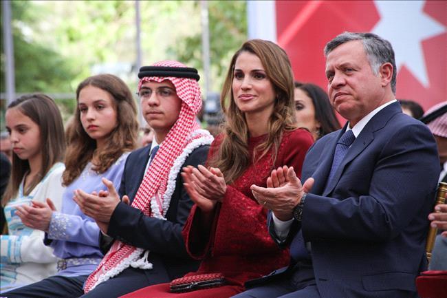 La famiglia Reale Giordana festeggia il 67esimo anniversario dell'indipendenza della Giordania Jordan Royal Family celebrated the 67th Jordan Independence Day