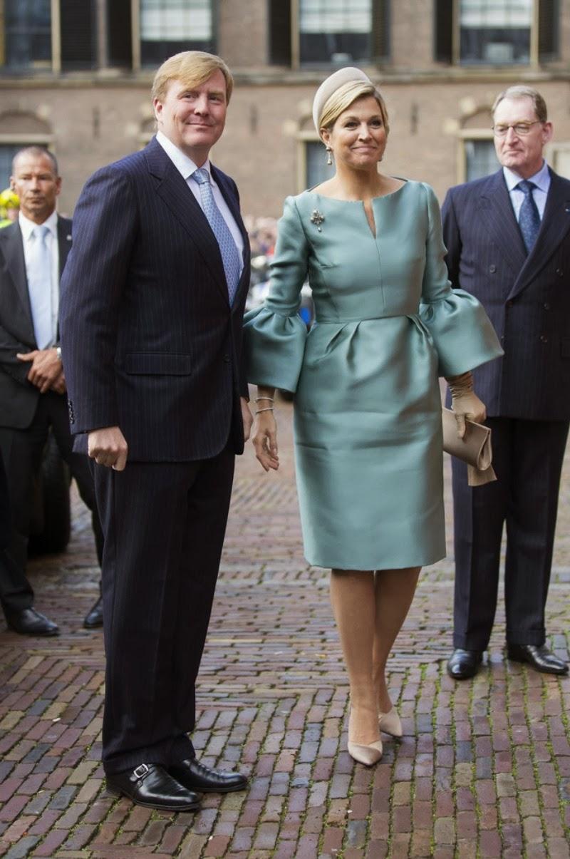 Il Re Willem-Alexander e la Regina Maxima alle celebrazioni per i 200 anni del regno d'Olanda King Willem-Alexander and Queen Maxima attend the celebration of the 200th anniversary of the Kingdom of the Netherlands