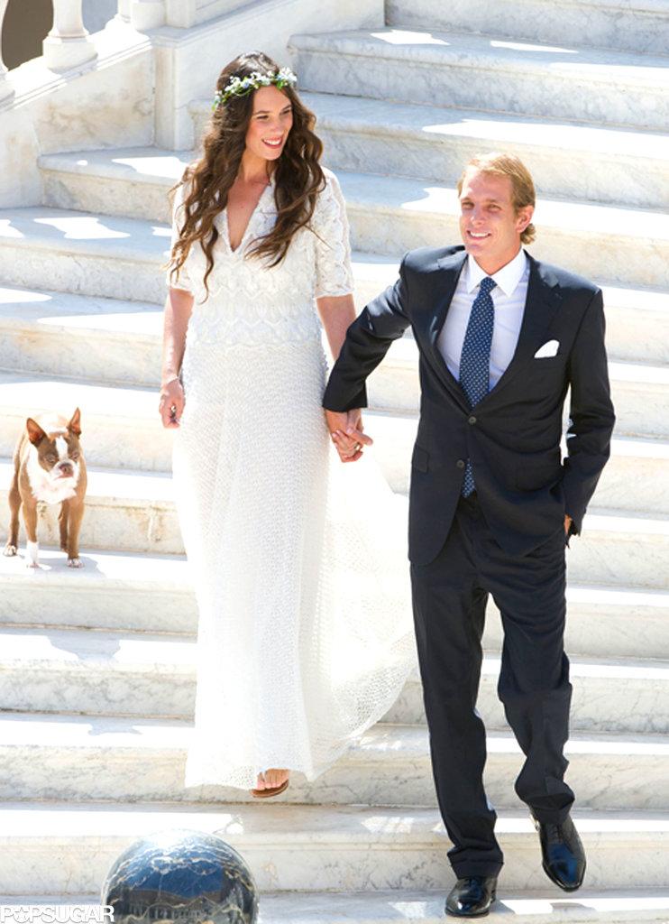 Matrimonio di Andrea Casiraghi e Tatiana Santo Domingo Wedding of Andrea Casiraghi and Tatiana Santo Domingo