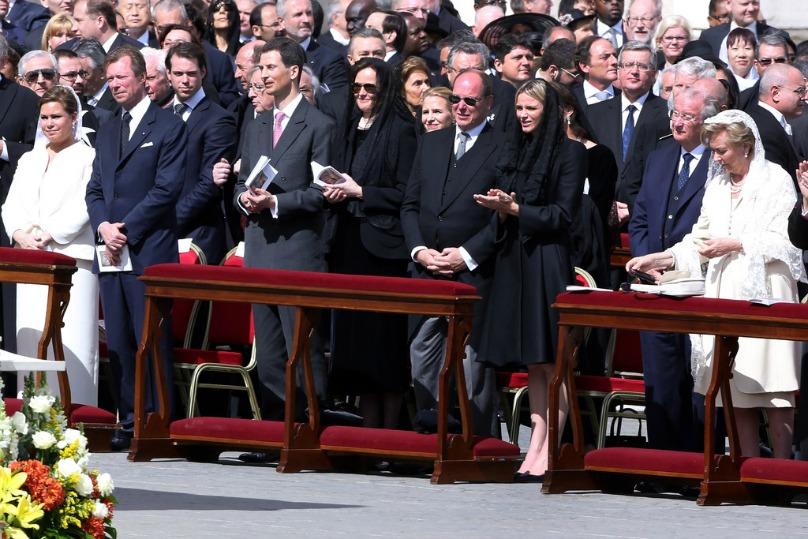 I Reali di tutta Europa sono presenti alla prima messa di Papa Francesco I European Royals attended  the inauguration mass of Pope Francis I