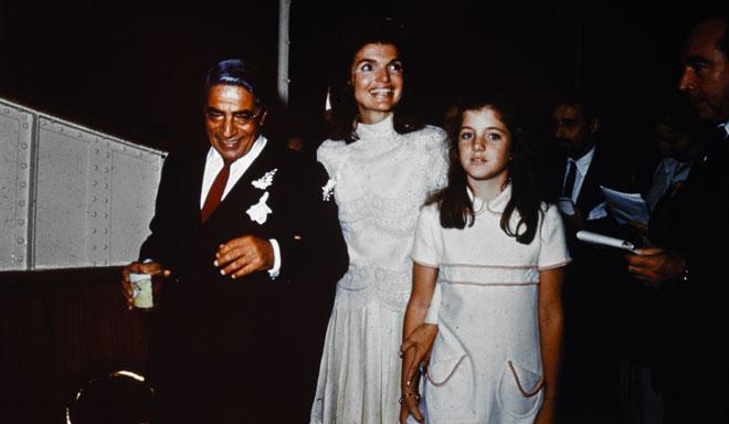 Jacqueline Kennedy and Aristotele Onassis