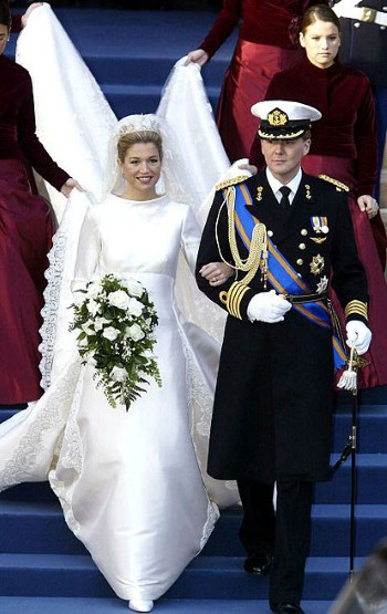 Maxima Zorreguieta and Willem Alexander of Netherlands