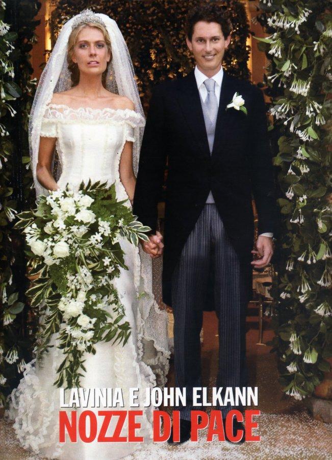 Lavinia Borromeo e John Elkann