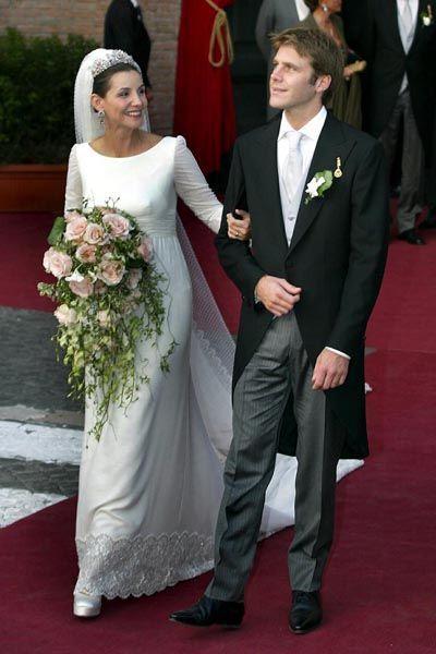 Il Principe Emanuele Filiberto di Savoia e Clotilde Courau