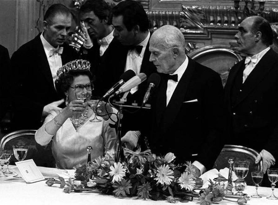 Con il Presidente Sandro Pertini nel 1980