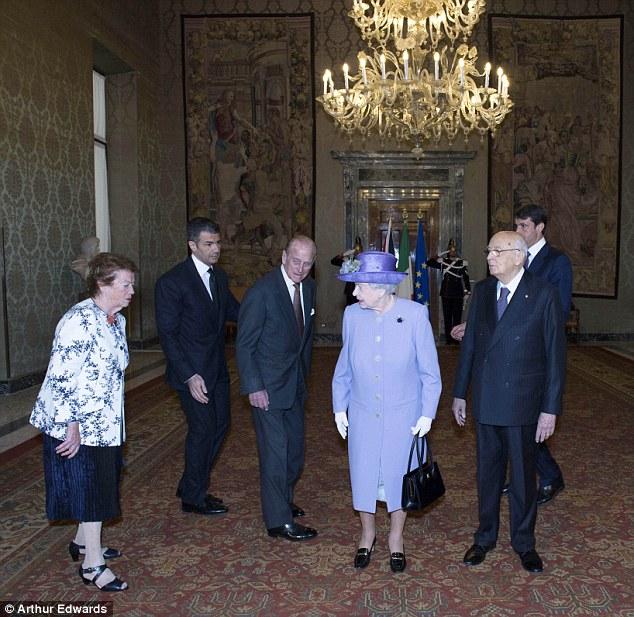 regina-elisabetta-filippo-edimburgo-roma