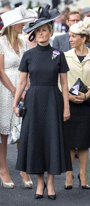 countess of wessex. contessa di wessex, ascot race, ascot