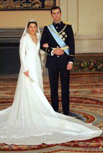 letizia e felipe matrimonio