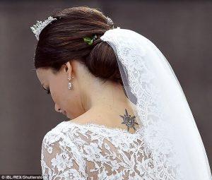 principessa sofia di svezia tatuaggio