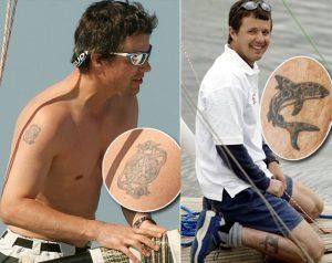 principe frederik tatuaggi