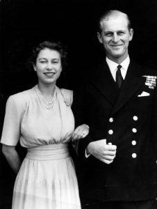 Il fidanzamento della futura Regina Elisabetta con il Principe Filippo