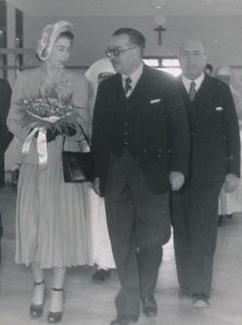 La futura Regina Elisabetta a Malta
