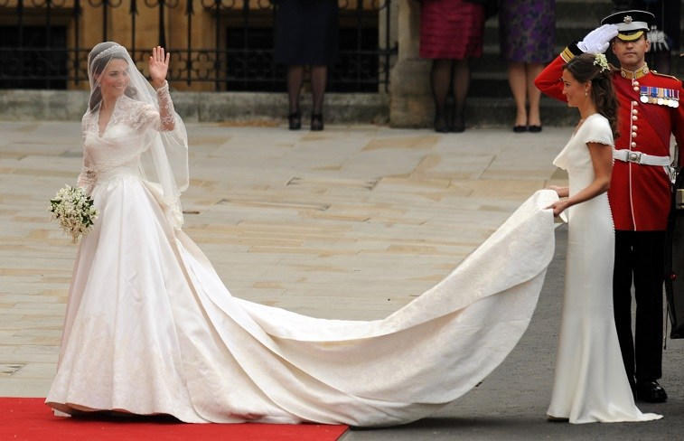 Il vestito da sposa di Kate Middleton: 10 curiosità