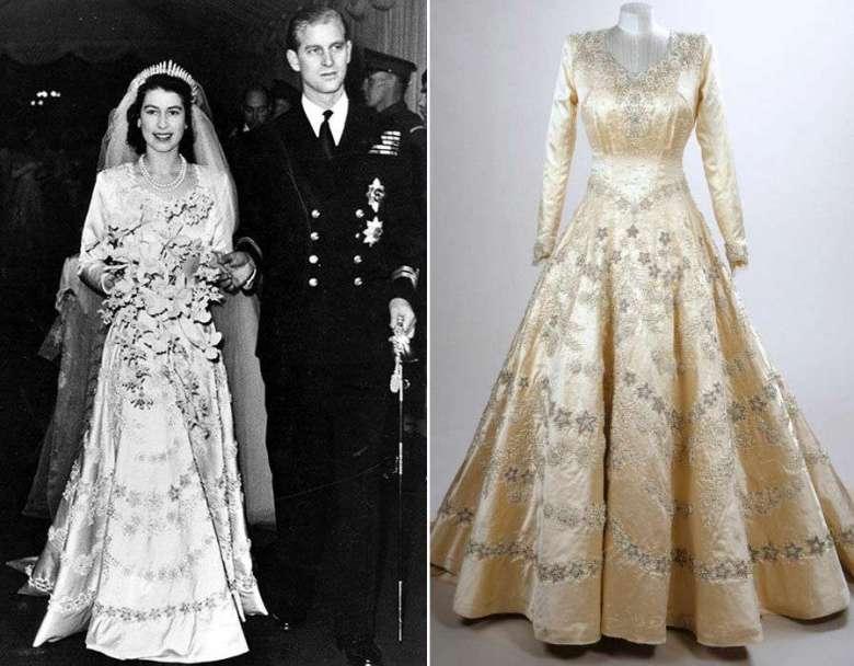 Il vestito da sposa della Regina Elisabetta: 10 curiosità