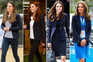 blazer duchessa di cambridge